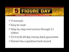 5 figure a day income