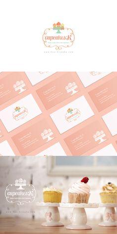Brand Identity - for sale www.One-Giraphe.com   #professional #logo #designer #logodesigner #brandidentity Professional Logo, Art Director, Brand Identity, Creative Art, Beverages, Logo Design, Cupcakes, Place Card Holders, Logos
