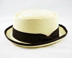 Seja um Pork Pie - Palha Sintética, um chapéu de praia, um chapéu clochê ou…