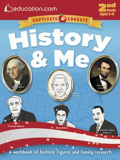 Through color-by-numbers, fill-in-the-blanks, reading quizzes, short biographies, and more, second graders will learn about dozens of important people: presidents, civil rights leaders, explorers, writers, sports stars, scientists, and more.