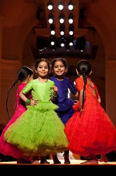 Gaultier Junior couture dresses as they originally appeared on the Haute Couture catwalk