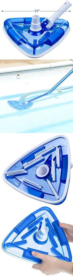 Pool Cleaner Attachments 181065: Weighted Pool Cleaning Vacuum Head Triangle Spa 11 Swimming Cleaner Surface New -> BUY IT NOW ONLY: $36.61 on eBay!