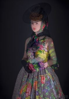 Stunning photographic fashion works by Atelier Olschinsky - The creative duo's editorial photography for the presentation of haute couture collection of Austrian fashion designer Susanne Bisovsky.