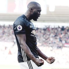 "8,046 Likes, 10 Comments - Manchester United Photos (@manutdfotos) on Instagram: ""Double tap for Romelu Lukaku ❤️"""