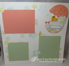 Stamp & Scrap with Frenchie: Easter Scrapbook