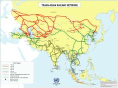 Trans - Asian Railway network