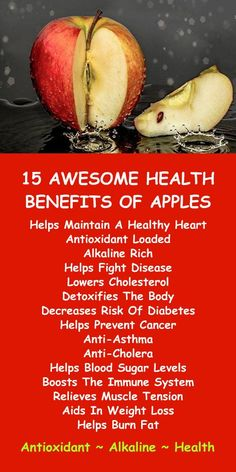 15 AWESOME HEALTH BENEFITS OF APPLES; the antioxidant loaded, alkaline rich, healing superfood. Learn about alkaline rich Kangen Water; the hydrogen rich, antioxidant loaded, ionized water that neutra