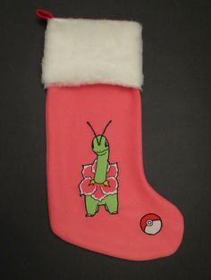 Pokemon Christmas Stocking featuring Meganium