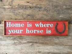 Handmade Wood Sign Western Signs and Home Decor by CrowBarDsigns