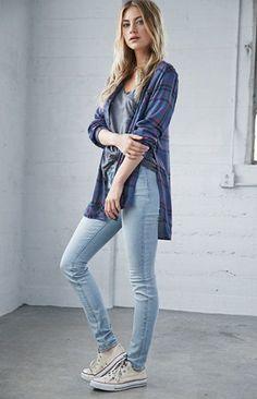 Bullhead Denim Co. Sunbeam Low Rise Skinny Jeans at PacSun.com