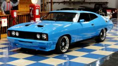 Learn more about RHD Muscle: 540 HP& 1976 Ford Falcon XC on Bring a Trailer, the home of the best vintage and classic cars online. Australian Muscle Cars, Aussie Muscle Cars, American Muscle Cars, Ford Falcon, Mad Max, Us Cars, Sport Cars, Plymouth, Ford Motor Company
