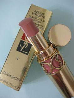 YSL ROUGE VOLUPTE Lipstick #4 SWEET HONEY