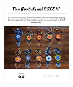 New Products and SALE!!!