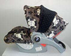 My future child will have this. Baby Car Seat cover boy car seat coverInfant Car Seat by isewjo, $69.00