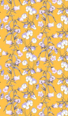 Find Floral Seamless Pattern Wildflowers Pansies Campanula stock images in HD and millions of other royalty-free stock photos, illustrations and vectors in the Shutterstock collection. Vintage Wallpaper Patterns, Flowery Wallpaper, Cool Wallpaper, Pattern Wallpaper, Graphic Wallpaper, Flower Backgrounds, Wallpaper Backgrounds, Aesthetic Iphone Wallpaper, Aesthetic Wallpapers