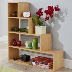 Bookcase Storage Self Unit Display Shelves Room Divider Bookshelf Home Furniture