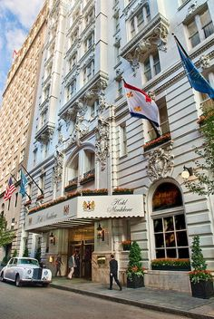 Hotel Monteleone in the French Quarter of New Orleans, LA