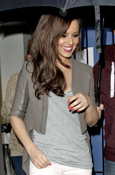 Cheryl Cole Photo - Cheryl Cole Leaves Key 103 Radio Studios
