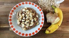 Nem, hurtig og sund havregrød med ingefær, kanel og kardemomme. Inspiration til morgenmad.