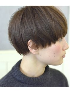 New Hair, Japanese Short Hair, Tomboy Hairstyles, Short Bob Haircuts, Hair Color And Cut, Bowl Cut, Salon Style, Girl Short Hair, Hair Designs