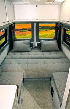Sportsmobile Custom Camper Vans - Sprinter Design Your Own Examples, EB Vans 4