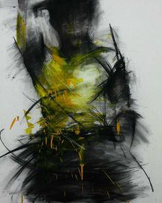 untitled oil & charcoal on canvas 91 x cm 2013 by 신광호 (Shin KwangHo) Figure Painting, Figure Drawing, Charcoal Portraits, Arte Horror, Abstract Portrait, Encaustic Painting, Life Drawing, Figurative Art, Dark Art