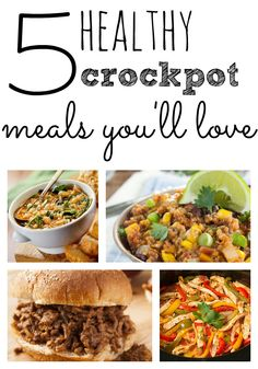 Looking for something delicious that takes no time? Try these easy crockpot meals!
