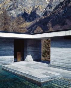 Peter Zumthor # Therme Vals