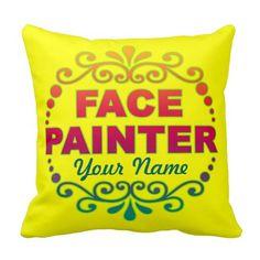 Rainbow Yellow Throw Pillow