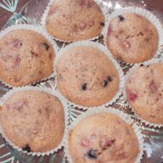 mustikka vadelma suklaa muffinsit