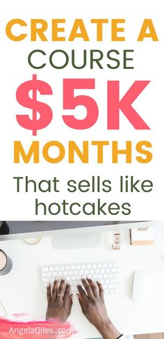 $5k Months with super easy passive side hustle ideas.  Earn extra cash with this easy side hustle idea for women - create a profitable course on the internet.  Learn how to create a simple online course in 2020.    #sidehustleideas #sidehustleideasathome #sidehustleideasextracash #sidehustleideaspassiveincome #sidehustleideasCanda #sidehustleideasathomeextramoney #sidehustleideasdiy #sidehustleideasformen #sidehustleideaswomen Make More Money, Make Money Blogging, Make Money Online, Blogging Ideas, Business Tips, Business Marketing, Email Marketing, Online Business