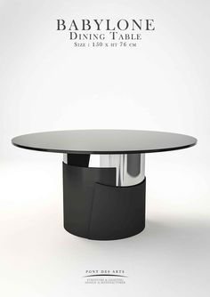Dinning Tables And Chairs, Dining Table Sizes, Furniture Dining Table, Round Dining Table, Design Furniture, Small Tables, Modern Table, Modern Interior, Lights