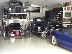 Send in your garage photos for a free t-shirt on http://www.carguygarage.com