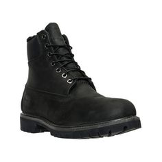Timberland Men's 6 Inch Warm Lined Boots ($90) ❤ liked on Polyvore featuring men's fashion, men's shoes, men's boots, men's work boots, black, mens boots, timberland mens boots, mens black work boots, mens water proof boots and mens rugged boots