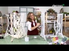 """RECICLARTE: """"Una mesa de comedor con una puerta antigua"""" - YouTube"""