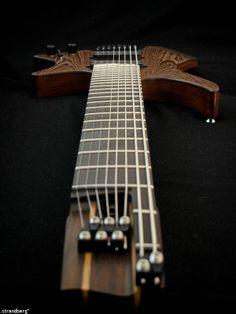 Strandberg 8 string guitar, Modern custom line #3 - http://earth66.com/strandberg-8-string-guitar-modern-custom-line-3/