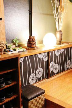 ●予算3万円で!!!経年劣化&雑然とした玄関をすっきり旅館風に改善●