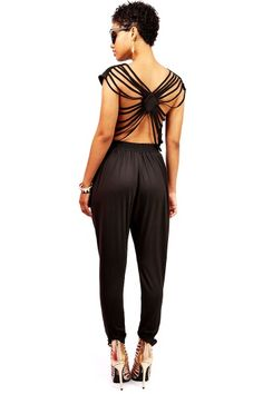 Web Spinner Jumpsuit | Trendy Clothes at Pink Ice #jumpsuits #rompers #pinkice