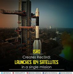 Congratulations to the ISRO - Indian Space Research Organisation team for the successful launch of 104 satellites in a single mission. A proud moment for the entire nation.