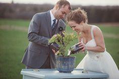 tree planting wedding ceremony