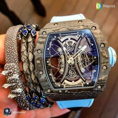 Brand names like Rolex and Cartier carry an air of authority that real… Men's Watches, Sport Watches, Cool Watches, Watches Online, Richard Mille, Mens Designer Watches, Luxury Watches For Men, Amazing Watches, Beautiful Watches