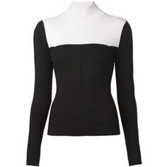 Narciso Rodriguez colour block sweater