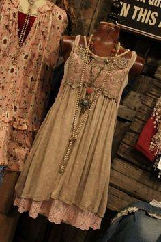 17 Ideas For Sewing Clothes Bohemian Mori Girl Trend Fashion, Boho Fashion, Womens Fashion, Shabby Chic Fashion, Shabby Chic Clothing, Shabby Chic Dress, Bohemian Style Clothing, Boho Dress, Mode Outfits