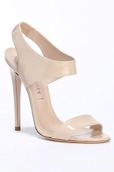 36 Sandals Heels You Will Definitely Want To Keep - High Heels like to see - Zapatos Pumps, Stilettos, Pretty Shoes, Beautiful Shoes, Nude Shoes, Shoes Heels, Versace Sandals, Wedding Shoes, Dress Wedding