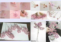 Virágba borult cseresznyefa