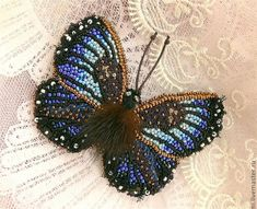 Beaded jewelry by Yeghia Straujuma. Butterfly brooches. Comments: LiveInternet - Russian Service Online Diaries