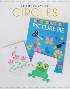 Learning with Circles - math ideas for early learners, preschoolers and school aged children.