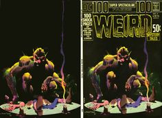 Weird Mystery Tales. Cover by Bernie Wrightson Follow us: http://twitter.com/comixcomixcomix Like us: http://comixcomixcomix.com