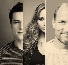 Petta bakes, I hunt, Haymitch drinks.  & doing so, they became family
