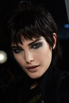 NARS AW13 Marc Jacobs. Cool, punky look.